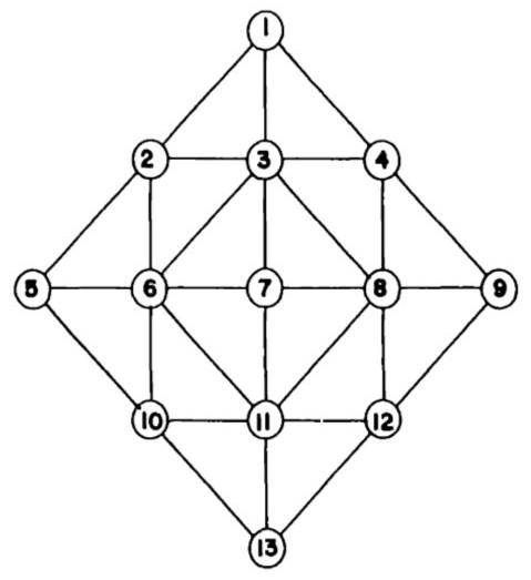 topologia diamante