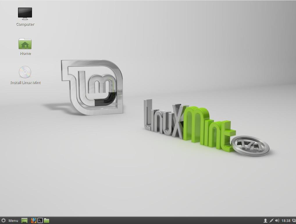 Escrtorio Linux Mint