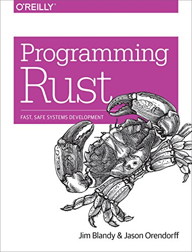 rust book cover